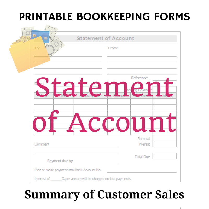 Delivery Docket Free Bookkeeping Forms And Accounting Templates  Pdf Template And .