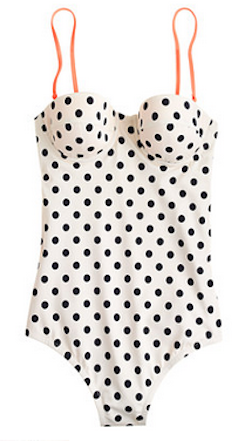 Love this polka dot swimsuithttp://rstyle.me/~1ibG8