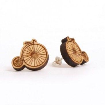 Penny Farthing, earrings