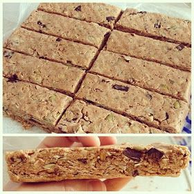 Melfy Cooks Healthy: No Bake Peanut Butter Protein Bars