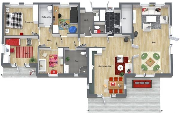 3d floorplan would make great content for a for Interactive floor plan software