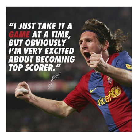 Ordinaire Lionel Messi Quotes About Soccer .