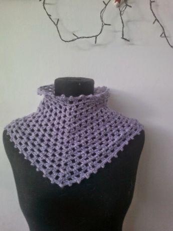 Lace, crochet and more!: Cuello Estilo Victoriano PATRON GRATIS ...