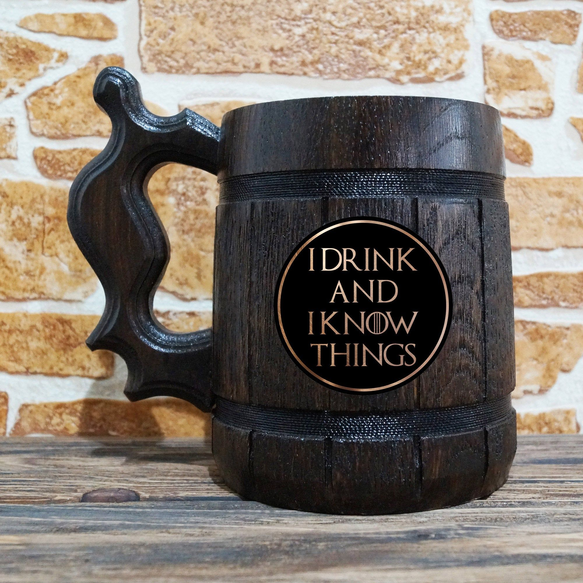 I Drink And I Know Things Beer Mug, Game Of Thrones