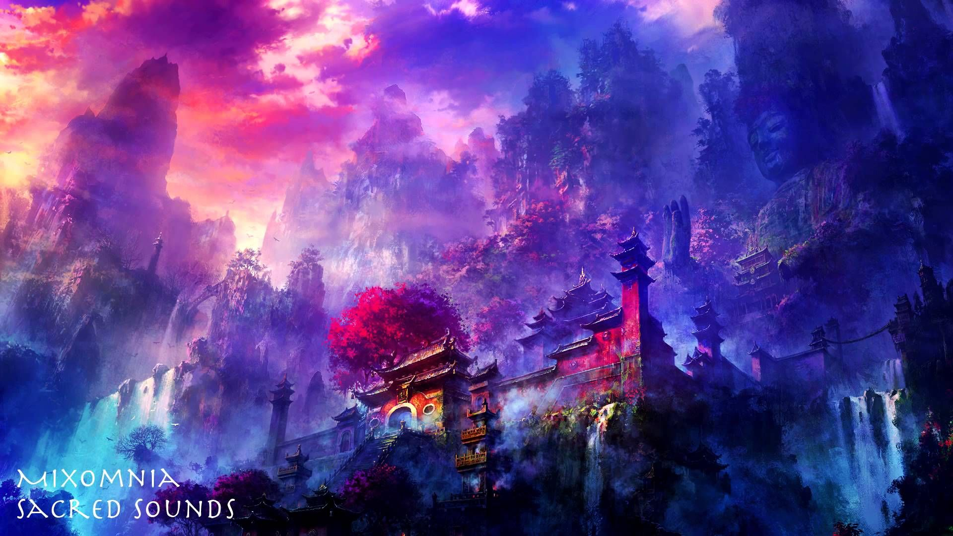 Sacred Sounds Chillstep Mix 2013 Hd Anime Scenery Wallpaper Anime Scenery Anime Wallpaper 1920x1080