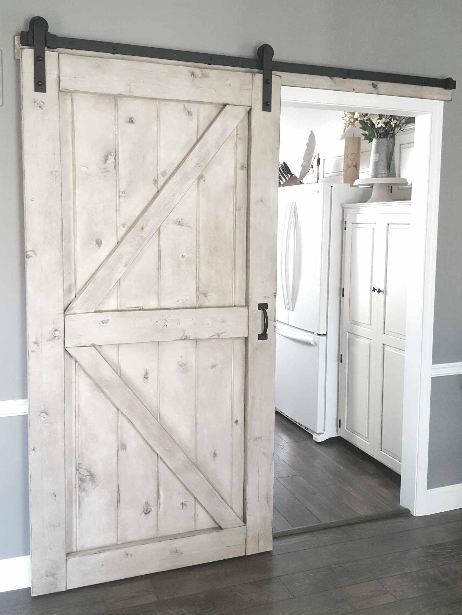 Barn Door Gray Wash Sliding 2 Panel Z Style Walston Door Company Diy Sliding Barn Door Barn Door Designs Home Door Design