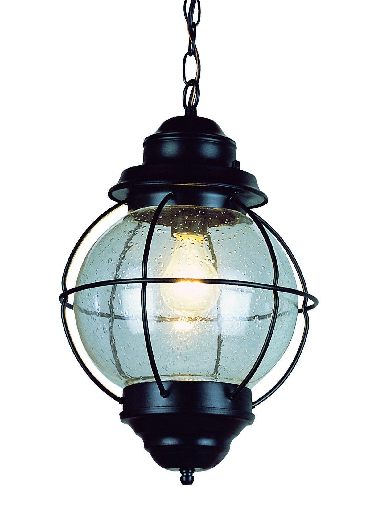 Trans Globe Lighting 69903 BK Hanging Onion Lantern 13\