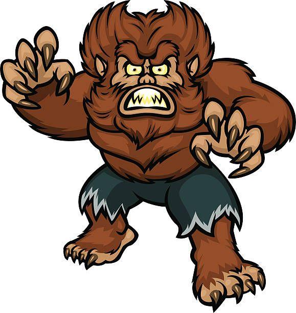 Scary Werewolf Halloween Cartoons Cartoon Halloween Clipart