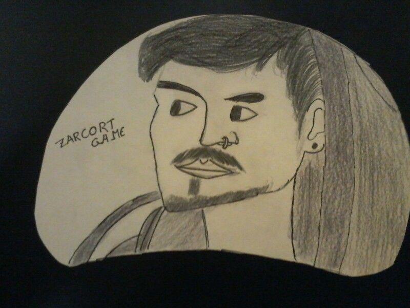 Zarcort el rapero más famoso de YouTube.