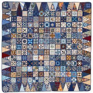 Barbara Feinstein...blues and browns