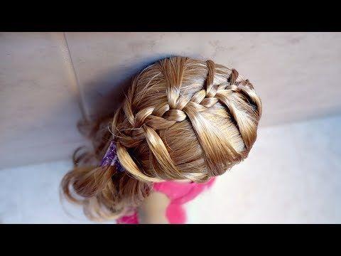 EASY AMERICAN GIRL DOLL BRAID TUTORIAL! - YouTube | American girl hairstyles, Doll hair, Quick ...
