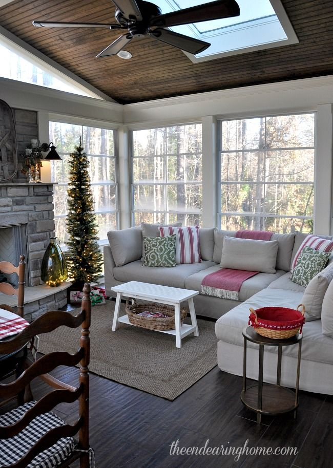 4 Season Sunroom Off Kitchen