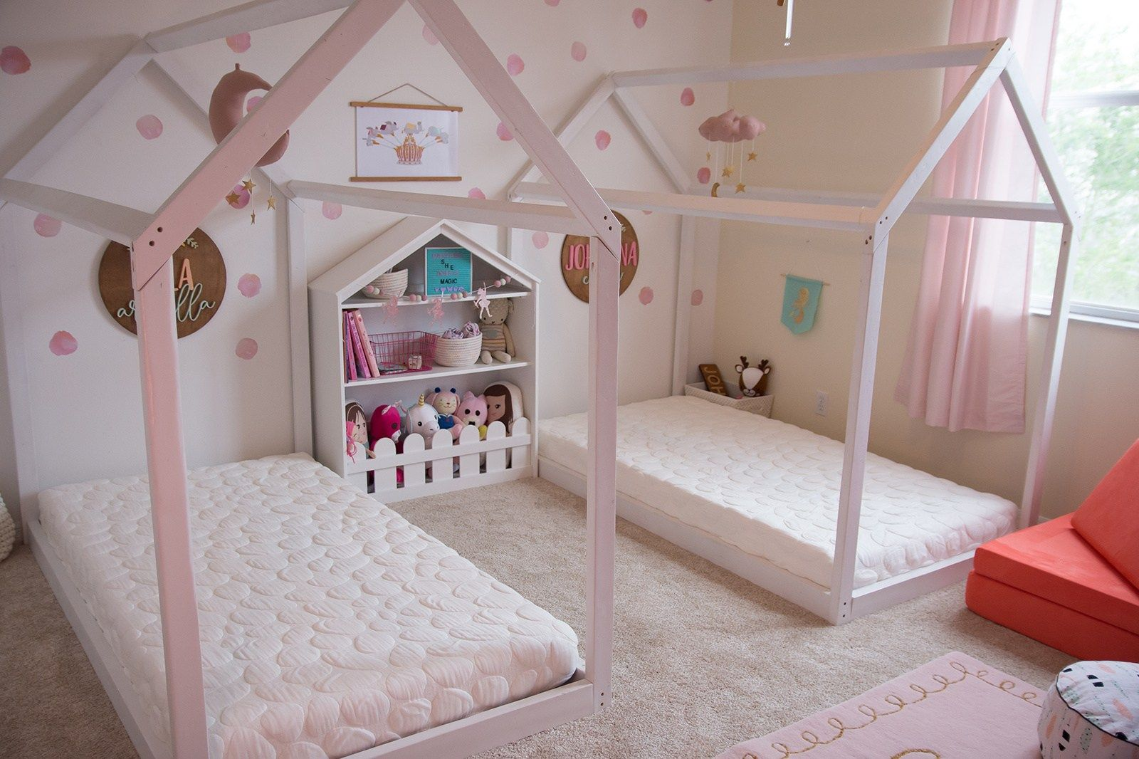 The Ultimate Fairytale Inspired Shared Bedroom Twin Girl
