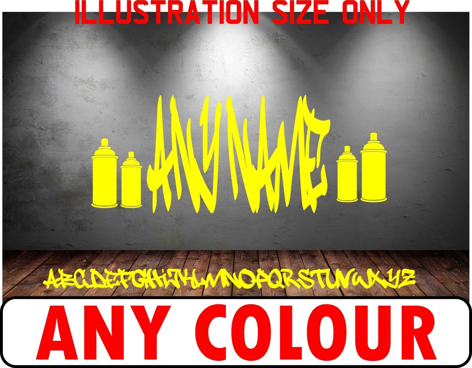 Unique Personalised Graffiti Wall Art Collection - Wall Art ...