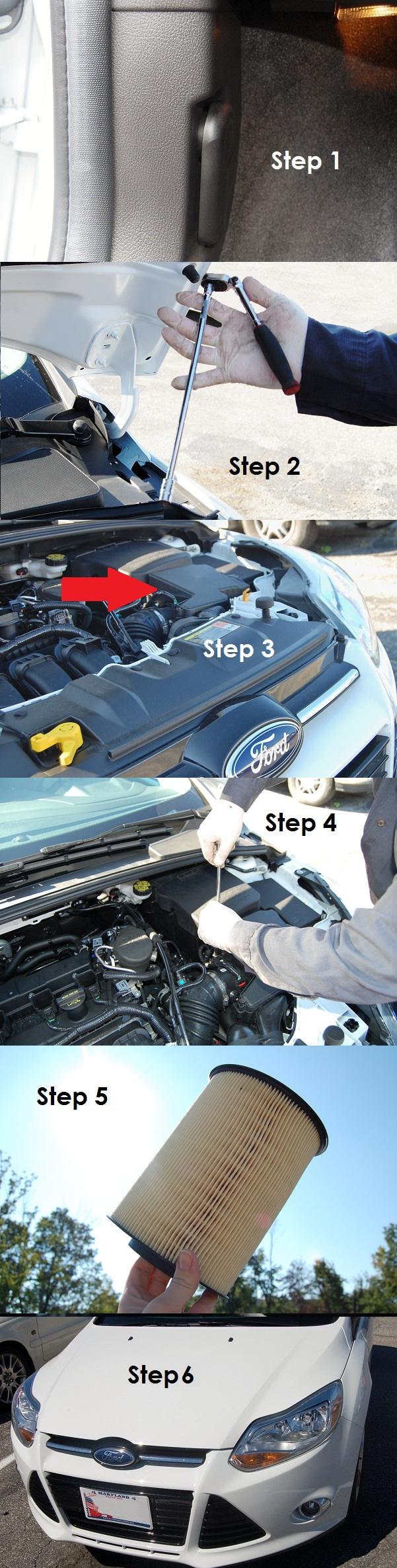 How to Replace Your Air Filter FallAutoDIY Diy, Diy