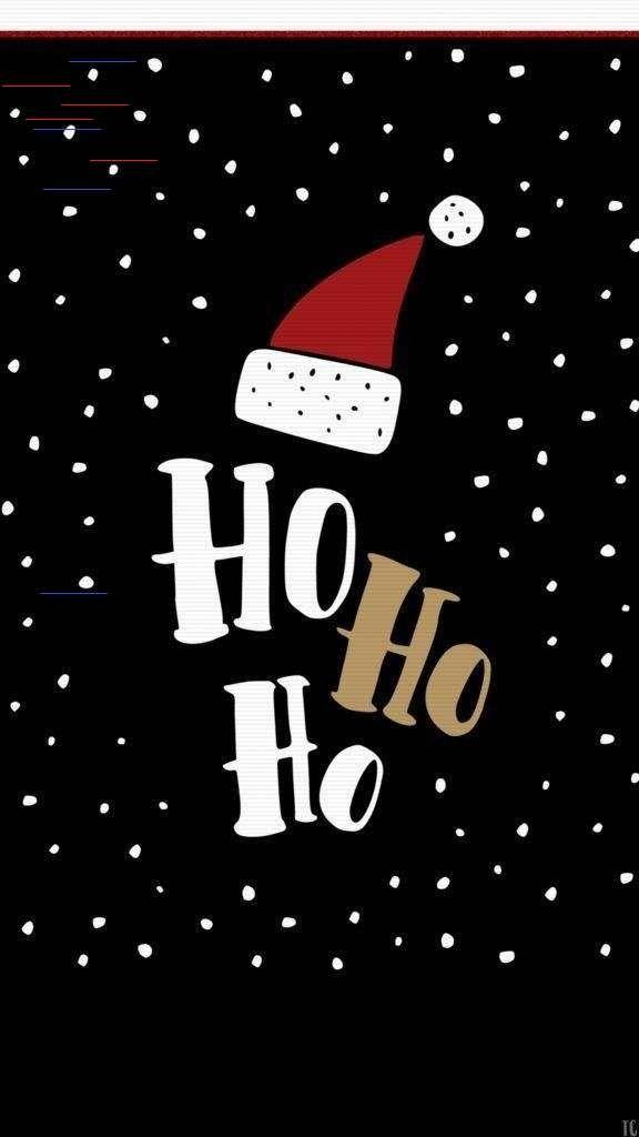 Hallo Ho Ho Weihnachten Handy Wallpaper Hi Ho Ho Christmas