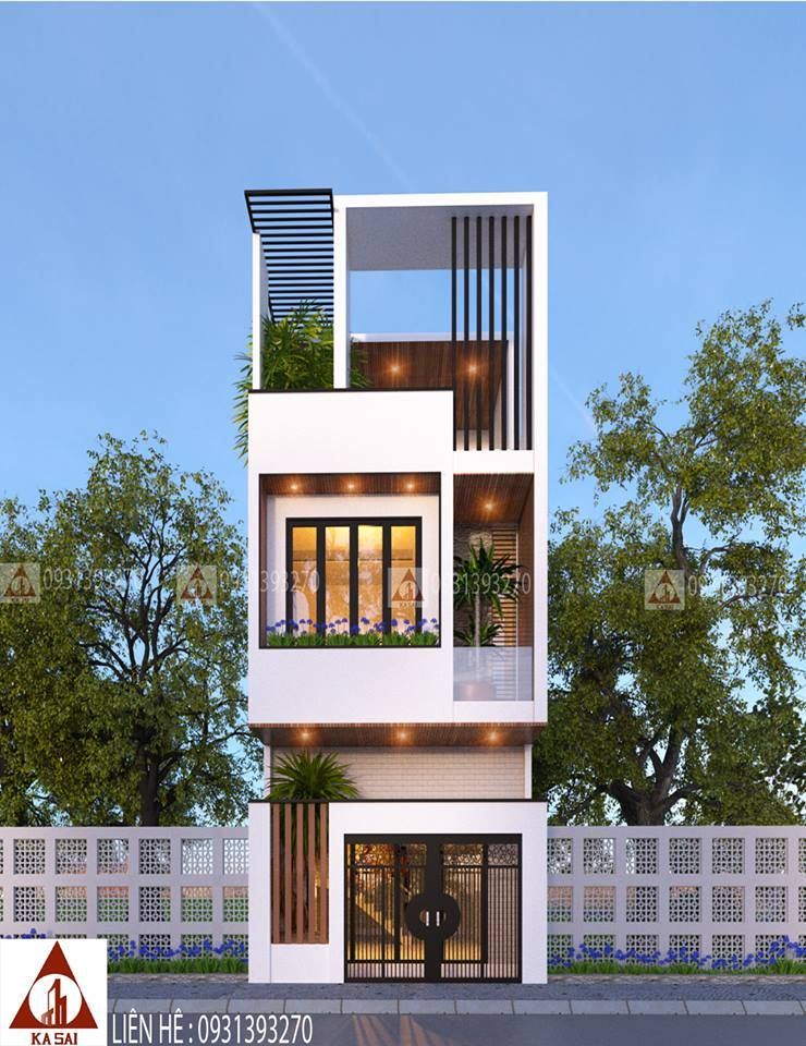 Pin By Joe S On Home Exterior Small House Design Narrow House