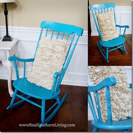 Old Rocking Chair Makeover With Spray Paint So Easy