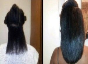 Before And After African American Hair Growth 2 Hair