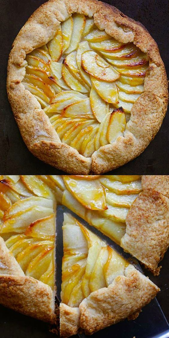 Rustic Apple Tart Best And Easiest Apple Tart Recipe Ever With