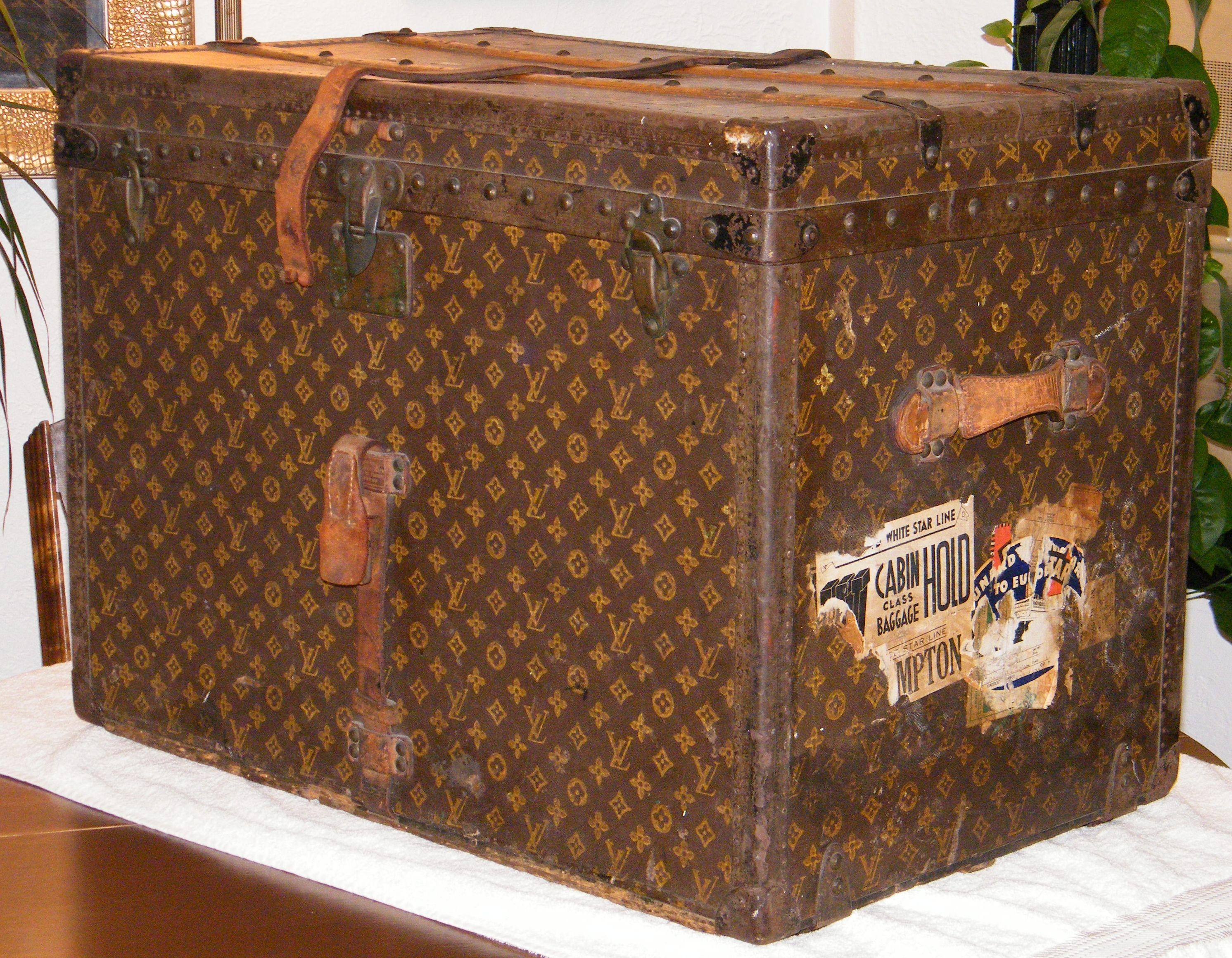 vintage louis vuitton luggage - Google Search | Louis Vuitton ...
