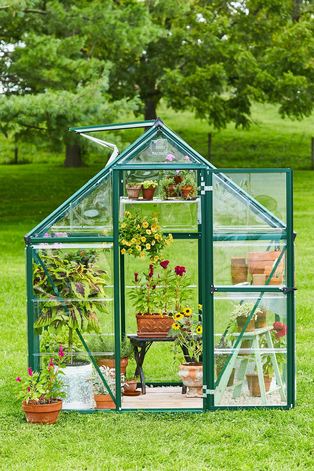 8 Small Greenhouses You Can Build All By Yourself Small Greenhouse Kits Diy Greenhouse Backyard Greenhouse Small backyard greenhouse kit