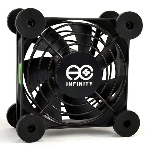 Ac Infinity Ai Mpf80a Quiet 80mm Usb Fan For Receiver Dvr
