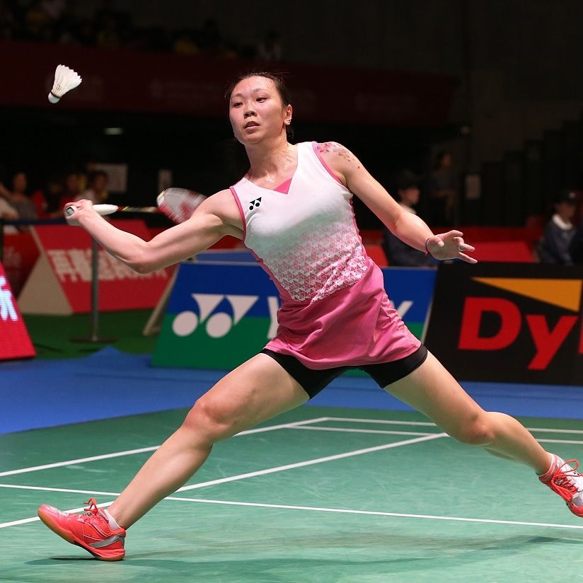 Zhang Beiwan Badminton Player From Usa Badminton Sport Player Women S Badminton