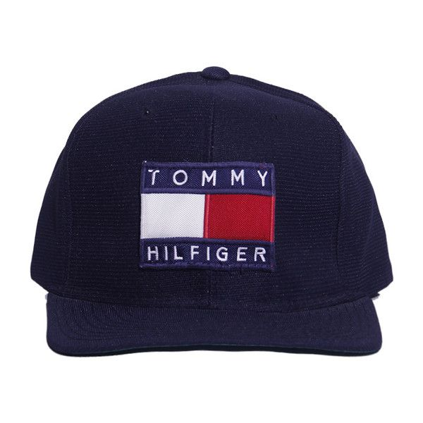 fbc6e8c9e75ec Tommy Hilfiger Snapback Perennial Merchants ( 30) ❤ liked on Polyvore  featuring accessories