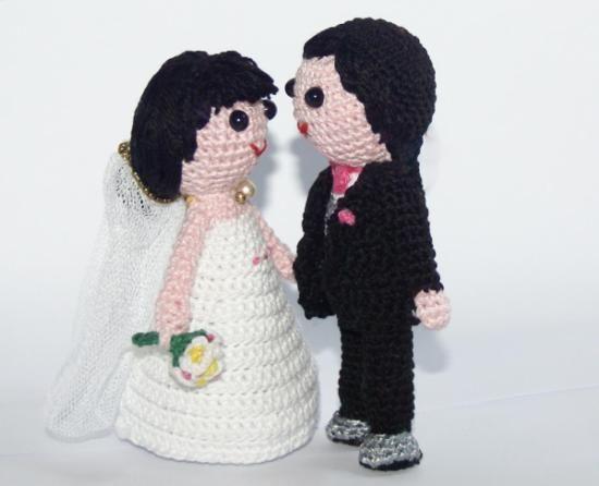 Novios amigurumis | Especial bodas / My wedding! | Pinterest ...