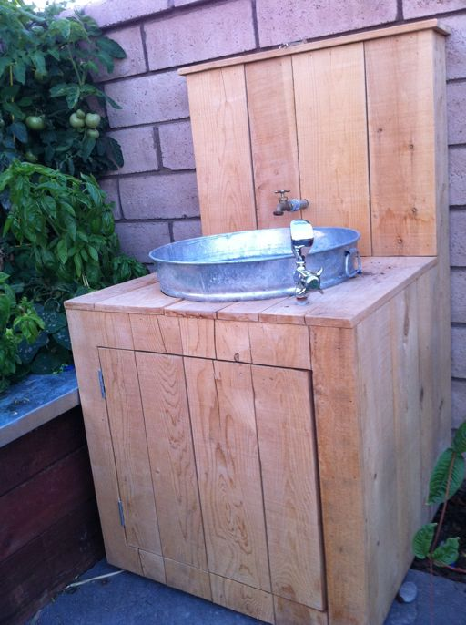 Love This Outdoor Sink Idea So Clever This Would Really