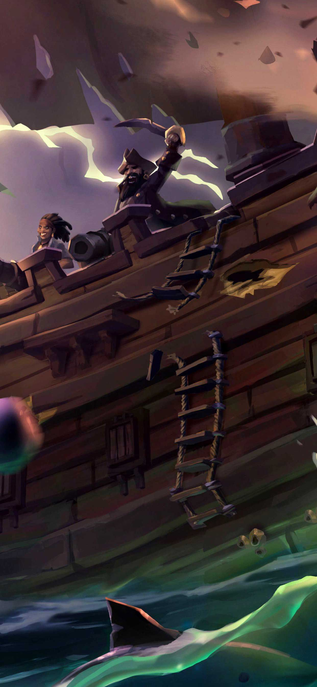 Sea Of Thieves J Iphone Pro Ma Wallpaper In 2020 Sea Of Thieves