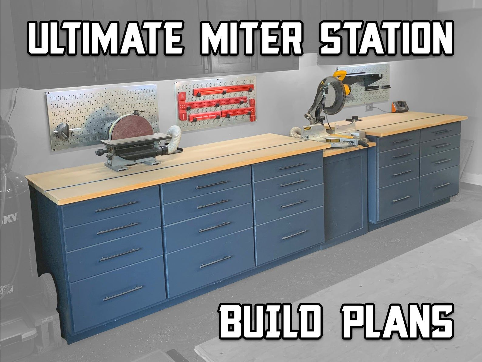 Ultimate Miter Station Woodworking Plans