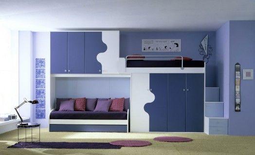 ergonomische kinderzimmer designs modern blaue farben kissen r ume pinterest kinderzimmer. Black Bedroom Furniture Sets. Home Design Ideas