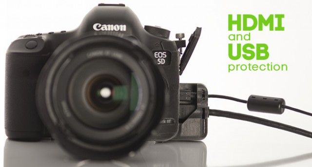 Canon 5d Mark Iii Hdmi Usb Port Protector For Hdslr And Tethered Shooters Canon 5d Mark Iii Usb Hdmi