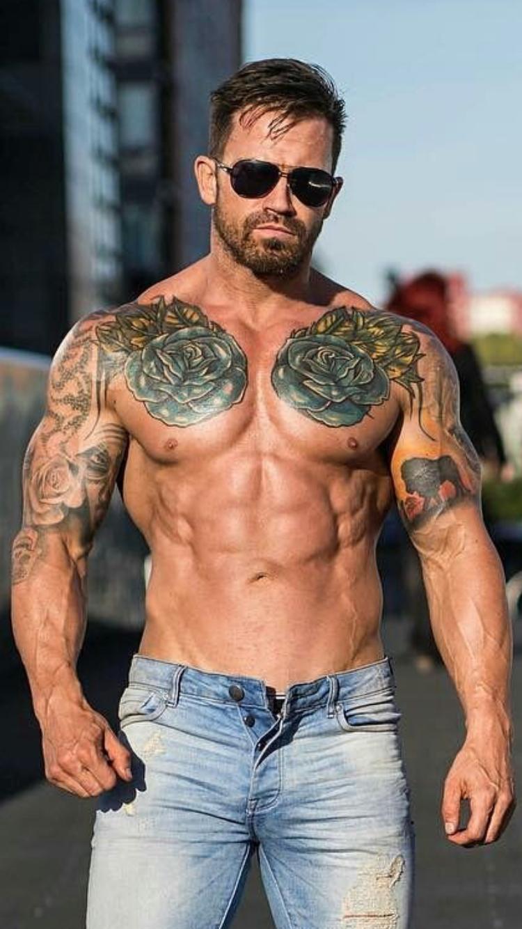 edb409b5a Hot beautiful gorgeous tattuated MEN MACHO #MACHO #LOVE #ILIKED ...