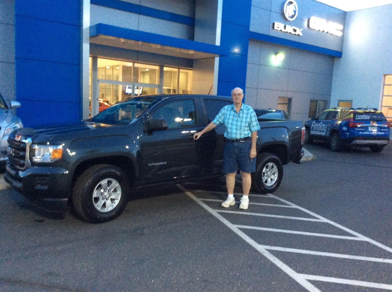 William We Hope You Enjoy Your New 2018 Gmc Canyon Congratulations And Best Wishes From Findlay Chevy B Buick Gmc Congratulations And Best Wishes Gmc Canyon
