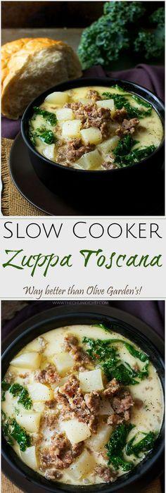 BEST Copycat Zuppa Toscana #zuppatoscanasoup