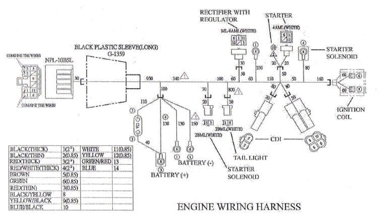 Gy6 150cc Wiring Diagram Wiring Diagram With