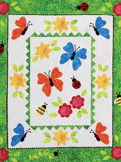 Garden Frolic Quilt Pattern