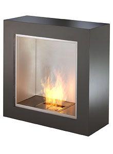 Ecosmart Fire Cube Modern Ventless Designer Fireplace Stardust