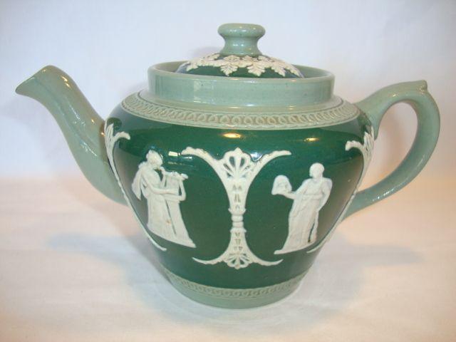 Beautiful Jasperware Teapot ~ Three Colors ~ Dudson Brothers LTD ...