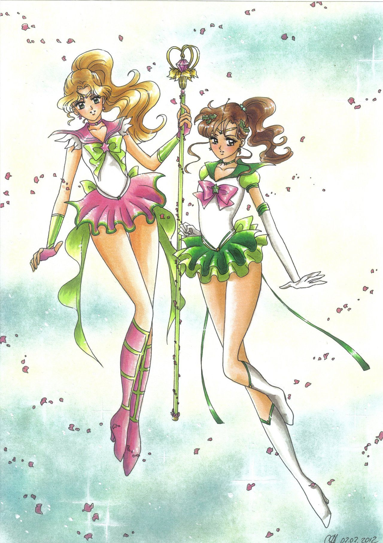 Sailor Jupiter | Sailor Io and Eternal Sailor Jupiter by Toto-the ...
