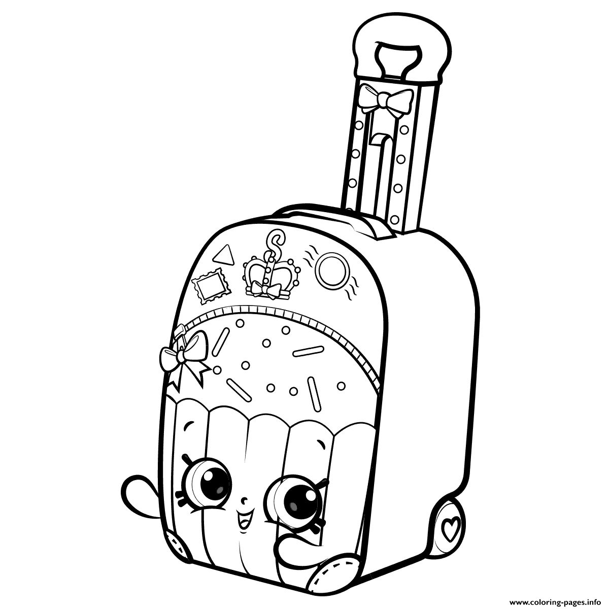 Shopkins Coloring Pages Season 8 3 B Shopkins World Vacation