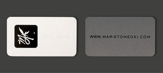 Unique Business Card – Marie Tomeoki | CardRabbit.com