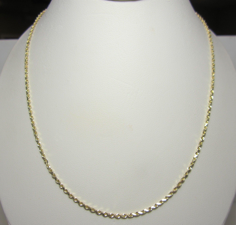Brilliant Bijou Sterling Silver 1.4mm Diamond Cut Fancy Chain 24 inches