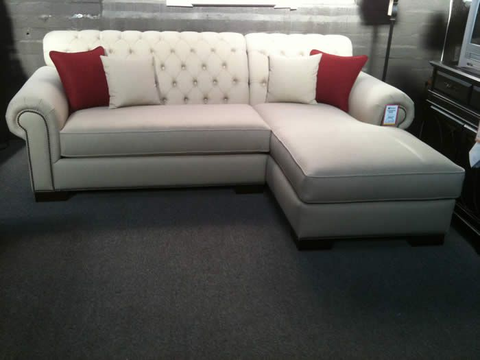 Marvelous Tufted Sectional With Chaise   Google Search