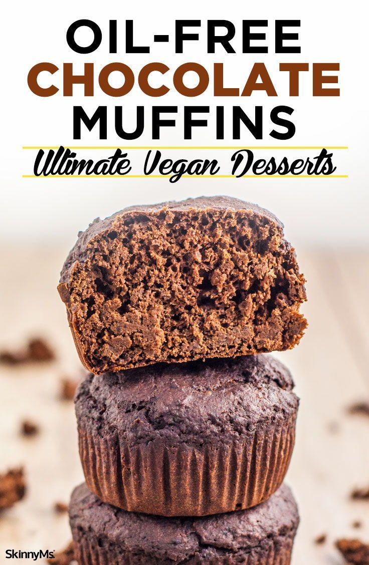 Oil-Free Chocolate Muffins Ultimate Vegan Desserts advise
