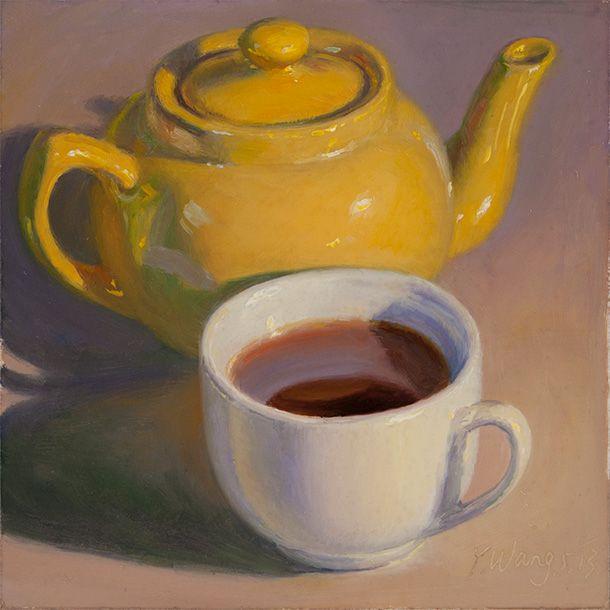 Teapot Cup Tea Still Life Art Still Life Drawing Still Life