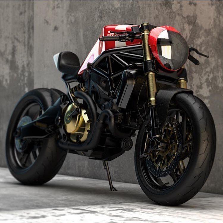 Ducati Monster 821 >> Ducati Monster 821 Cafe Racer Custom Ducati Monster